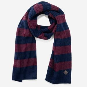 Cole Haan Striped Wool Scarf